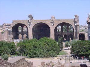 Basilica of Maxentius and Constantine - Roman forum