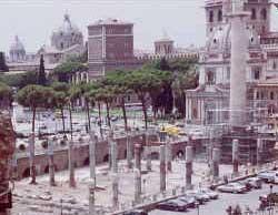 Basilica Ulpia - Trajan built this one near the old Roman forum