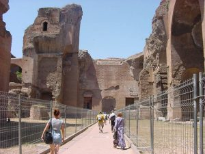 Baths of Caracalla - Tepidarium