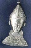 Pilgrimage badge from Canterbury(ofThomas a Becket), England