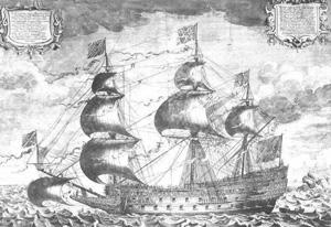 British sailing ship (1600s)