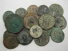 Roman bronze coins - money and the Roman economy