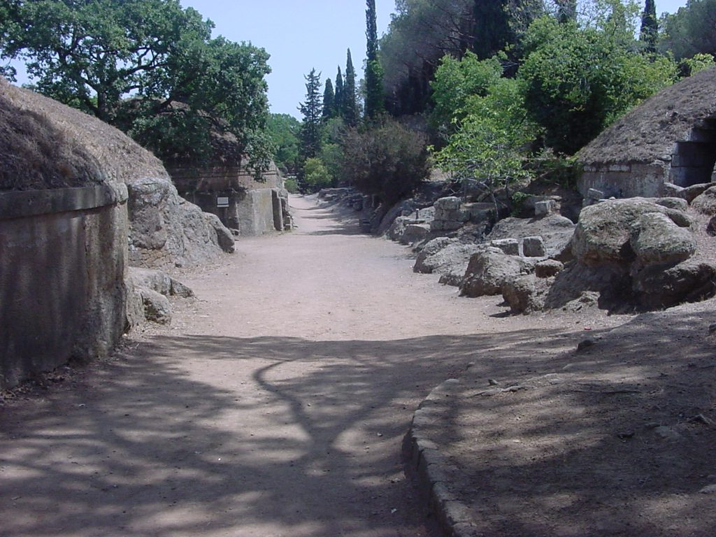 Etruscan tombs at Cerveteri