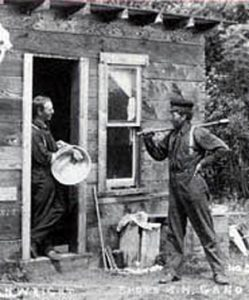 Canadian homesteaders