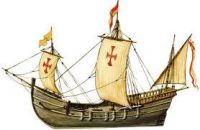 Vasco da Gama and Columbus used ships like these