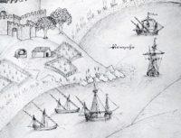 Caravels, about 1500 AD (Livro das Fortalezas de Duarte Damas)