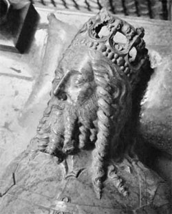 Casimir III of Poland from his tomb