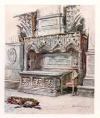 A fancy stone tomb: Chaucer's