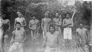 Cherokee lacrosse players from 1888
