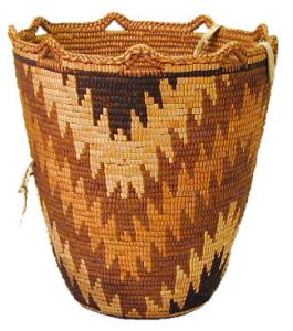 (University of Washington - cedar root basket)