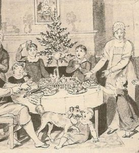 American Christmas Tree (about 1812 or 1819)