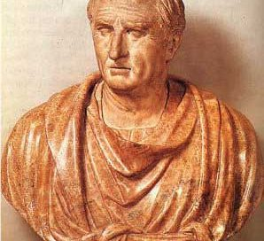 Cicero, a middle aged balding white man, beardless