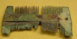 Roman hair combs and hairsticks
