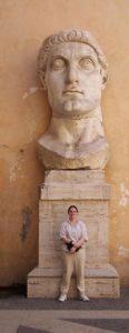 Constantine's giant head