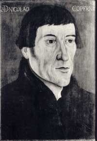 Copernicus: a white man with black hair and a thin face