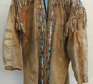 A Cree deerskin jacket
