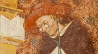 da Modena, man wearing glasses (ca. 1350 AD)