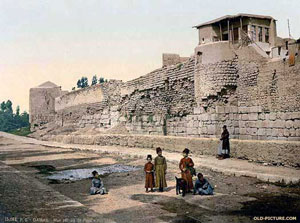 Walls of Damascus, Syria