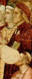 Dante, painted by Giotto about 1320 AD