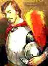 Hernando De Soto: a white man in armor
