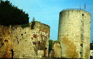 Castle at Dourdan, built by Philip Augustus