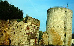 Castle at Dourdan, built by Philip Augustus