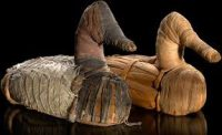 Duck decoys from Lovelock Cave (ca. 1 AD)