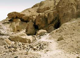 Egyptian caves where early monks and nuns lived