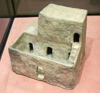A model of a typical house (from Egypt)