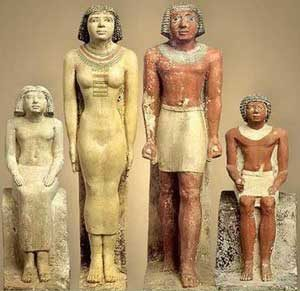 An ancient Egyptian family