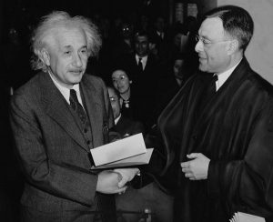 Albert Einstein becomes an American citizen.