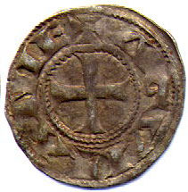 Coin minted when Eleanor was ruling Aquitaine