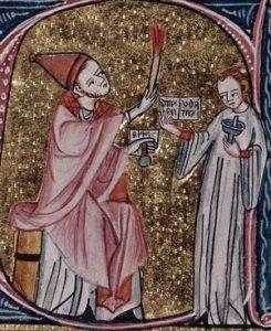 Medieval excommunication ceremony