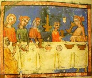 A Seder in the Middle Ages