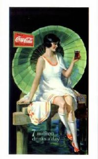 A Coke ad from the 1920s