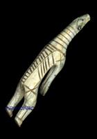 Tuniit carving of a polar bear