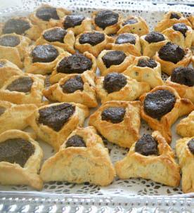 Hamentaschen cookies