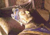 Henry II on his tomb
