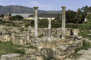 Hippo: Roman ruins with some columns