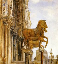 Bronze horses of St. Marks, Venice