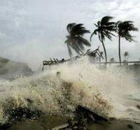 A hurricane inCuba