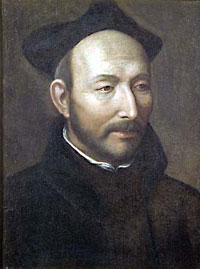 Ignatius of Loyola, who started the Jesuits