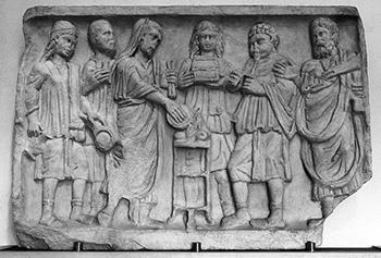 A Roman incense sacrifice