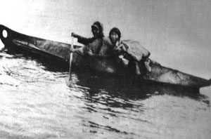 Inuit kayak (about 1890AD)