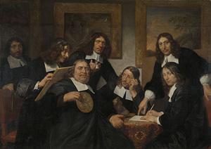 Members of the painters' guild in Haarlem (1670s)