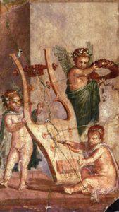 Roman kithara (Herculaneum,before 79 AD)