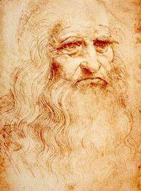Leonardo da Vinci's selfie