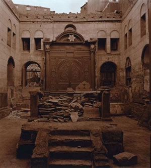 The synagogue where Maimonides worked in Cairo, Egypt