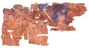 Manichaean painting (Turfan, western China, ca. 900s AD)