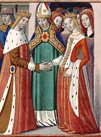 Margaret of Anjou (age 14) marries Henry VI
